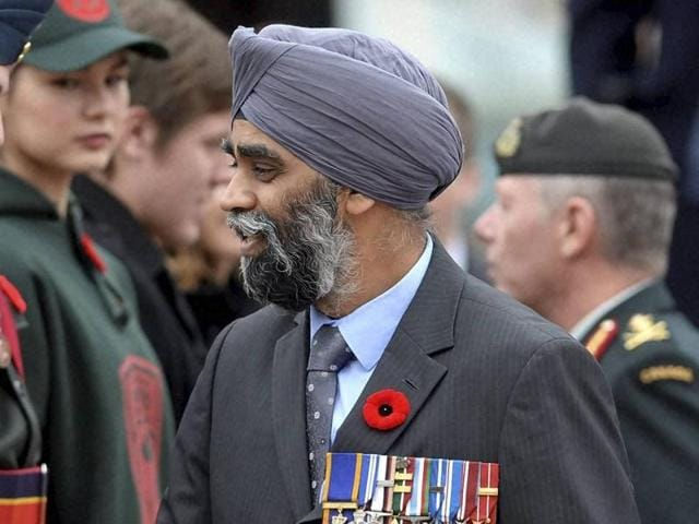 Harjit Sajjan, the Indian-origin Canadian defence minister, finds himself heading a ministry deeply involved with politically charged challenges.
