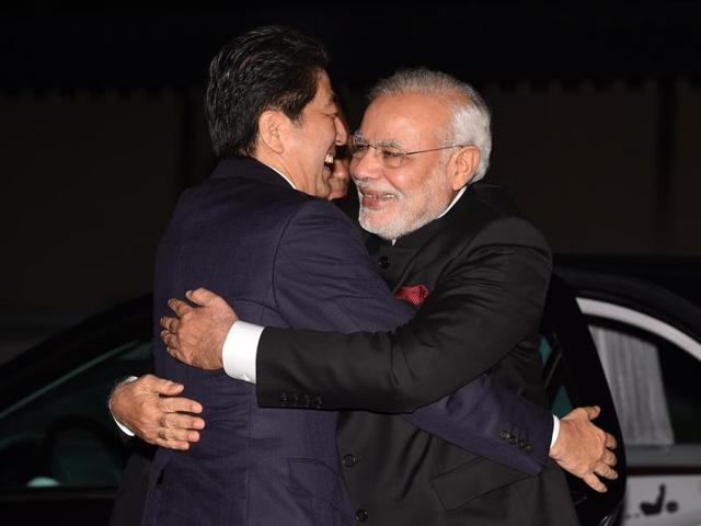 India and Japan are set to sign a $15 billion agreement for a high-speed train linking the Indian financial hub of Mumbai with Ahmadabad.