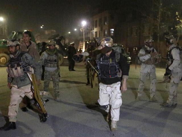 Afghanistan,Explosion,Gunfire