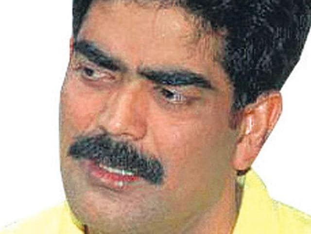 File photo of former RJD MP Mohammad Shahabuddin. who was sentenced to life imprisonment in a 2004 abduction and murder case by a special court on Friday, December 11, 2015.