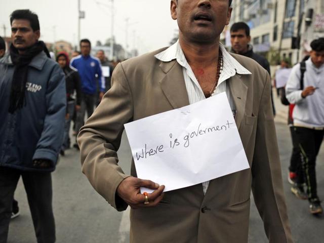 Madhesi protest