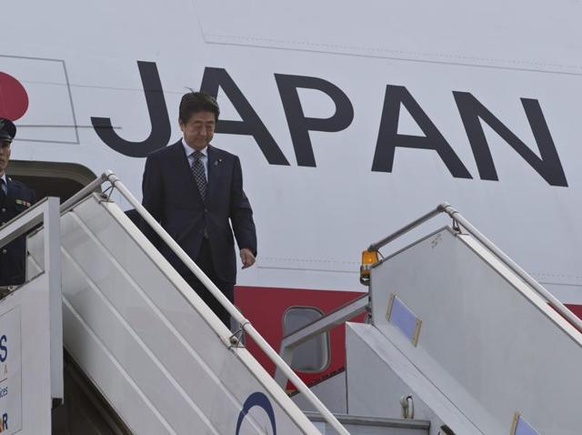 Japanese PM,Shinzo Abe,PM Modi