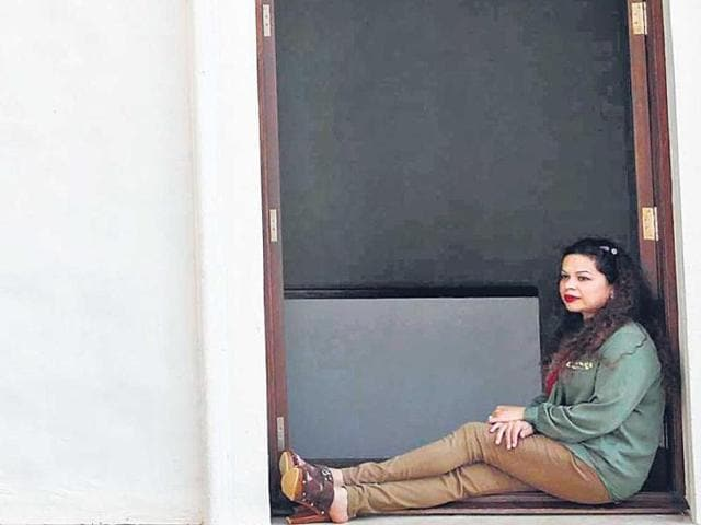 File photo of Suzette Jordan, the victim of gang rape in Kolkata in 2012. Three men convicted in the case were sentenced to 10 years of imprisonment on Friday.(HT File Photo)