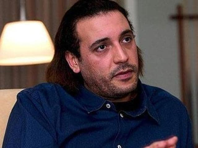 A file photo of Hannibal Gaddafi, son of the late Libyan dictator Muammar Gaddafi. Hannibal was kidnapped in Lebanon by militants demanding information about a Shiite cleric who disappeared in Libya decades ago.