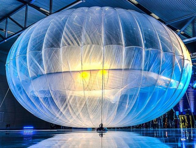 Google Loon,balloon,Microsoft