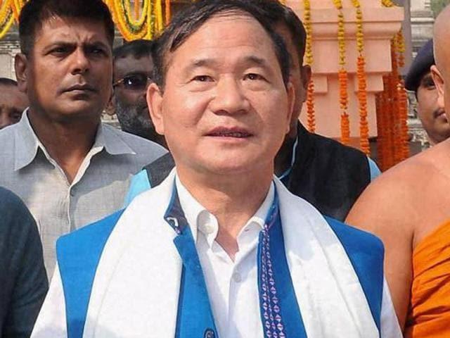 Arunachal Pradesh chief minister Nabam Tuki.