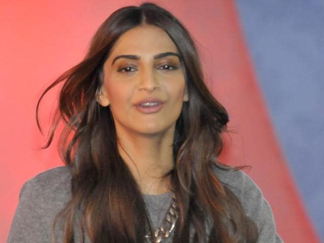 Bollywood actor Sonam Kapoor, during the HT Youth Forum 30 Under 30 in Chandigarh on November 23, 2015.