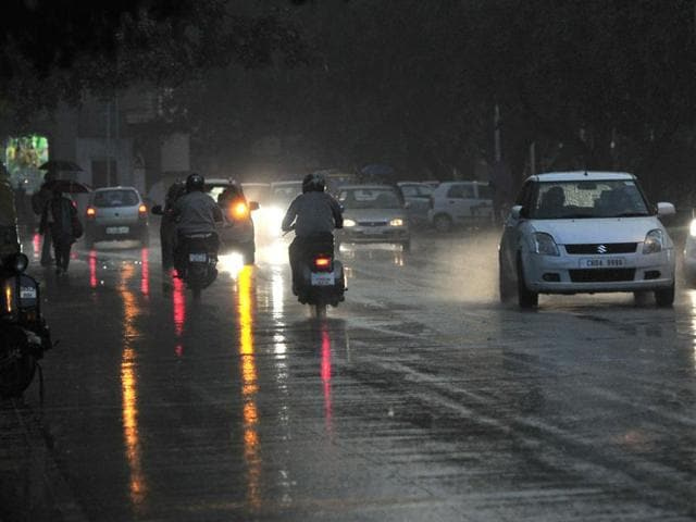 On Friday, city recorded 1.8-mm rain. The rain effected a dip in the day temperature, but the night temperature went up.