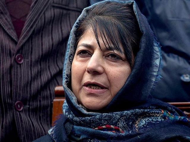 """PDP chief Mehbooba Mufti has said that return of awards by intellectuals was not manufactured but the """"beauty of democracy""""."""