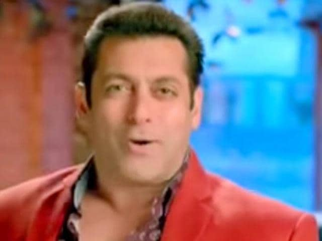A file photo of Bollywood actor Salman Khan during a film screening for Bajrangi Bhaijaan.