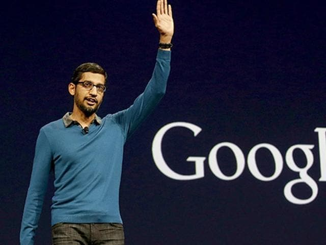 Google CEO Sundar Pichai made the comment in the aftermath of Republican frontrunner Donald Trump's controversial proposal to ban all Muslims from entering the United States.