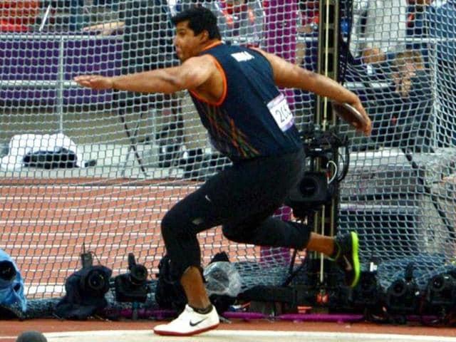 Vikas Gowda,IAAF,Rio 2016 Olympics