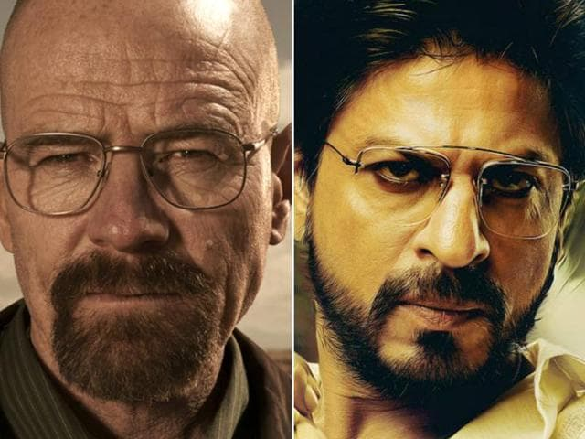 Shah Rukh Khan will not only adapt the brilliant series into a Bollywood film but also play Walter White, the protagonist.