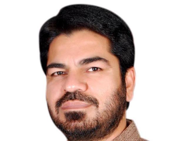 Tarn Taran BJP district president Navreet Singh Shafipur.