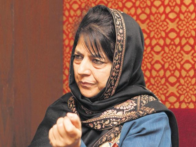 Member of Parliament Mehbooba Mufti at the HT Leadership Summit, which was held in New Delhi on December 4 and 5. Mufti says that when it comes to crimes against women, 'we want the system to do justice without pressure from us to do so'.
