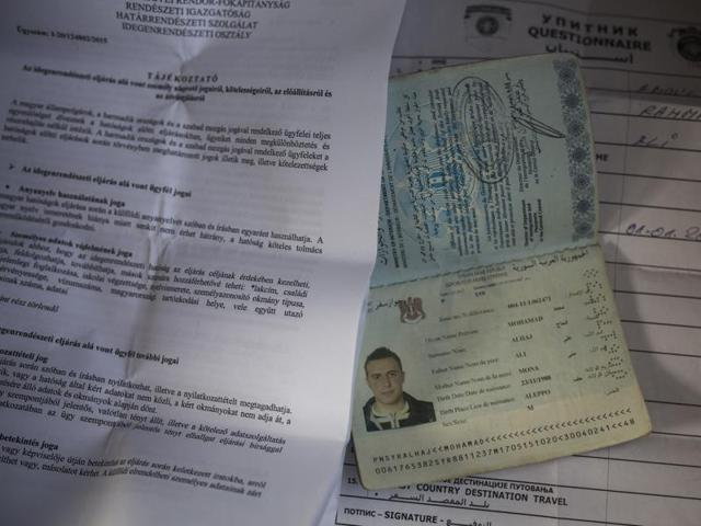 """A 17-page US report says ISIS likely has been able to print legitimate-looking Syrian passports since taking over the city of Deir ez-Zour, home to a passport office with """"boxes of blank passports"""" and a passport printing machine."""