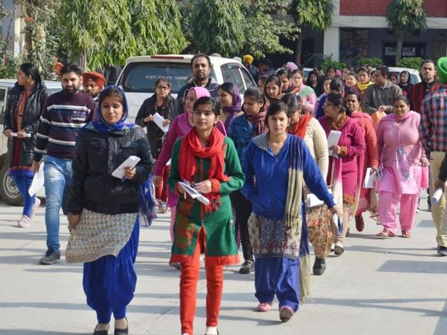 The Punjab School Education Board, which conducted the test, received seven complaints from all over the state.