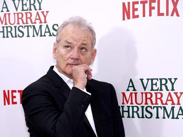 Bill Murray,Bill Murray Actor,A Very Murray Christmas