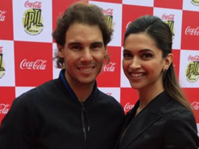 Deepika padukone,Rafael Nadal,Bajirao Mastani