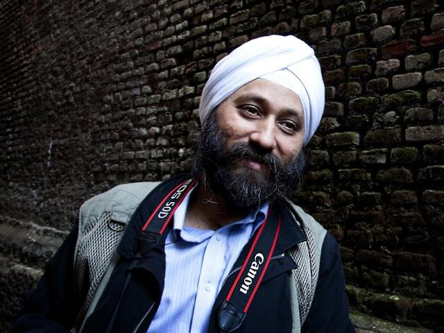 Singapore-based author Amardeep Singh.(HT Photo)