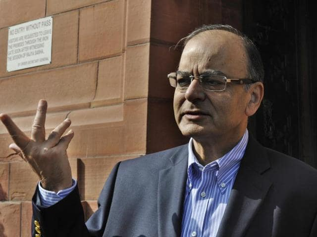 Finance minister Arun Jaitley and other Union ministers met Congress leaders on Monday in an effort to clear the logjam over the Goods and Services Tax bill.