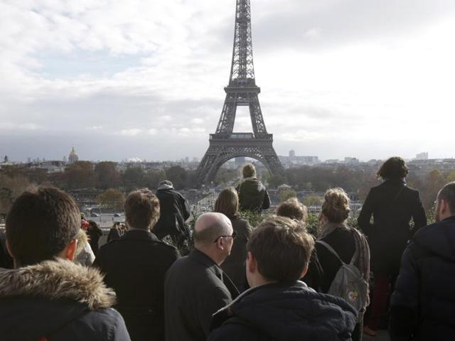 A man claiming allegiance to Islamic State attacked a teacher in the northernsuburbs of Paris, a month after  the deadly attacks which left 130 people dead in the French capital.