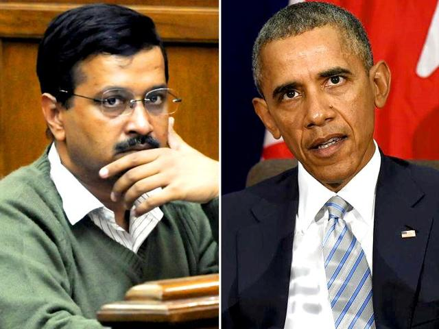 In the digital age when political fights are often fought on social networking sites, typos such as the ones made by Delhi CM Arvind Kejriwal (L) and US President Barack Obama (R) hardly go unnoticed.
