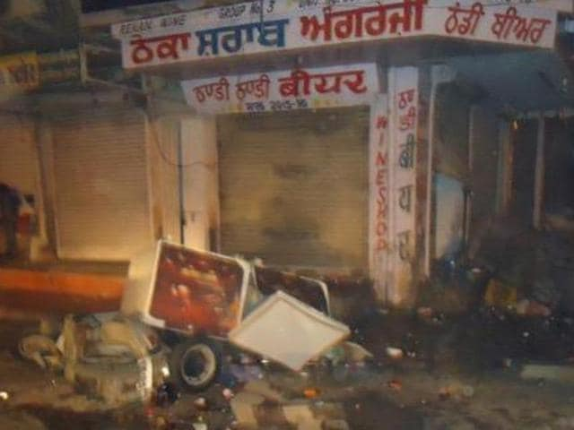 One person was killed and another was wounded in Abohar subdivision of Fazilka town on Friday, allegedly by workers of liquor baron and Shiromani Akali Dal (SAD) leader Shiv Lal Doda.