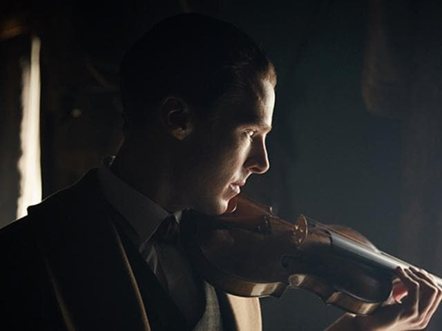 Benedict Cumberbatch in a still from teasers of Sherlock: The Abominable Bride.