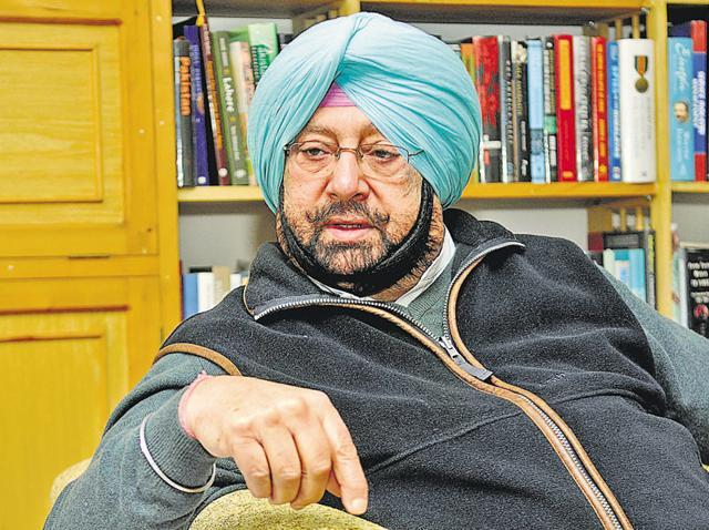 Capt Amarinder Singh,Congress,Punjab
