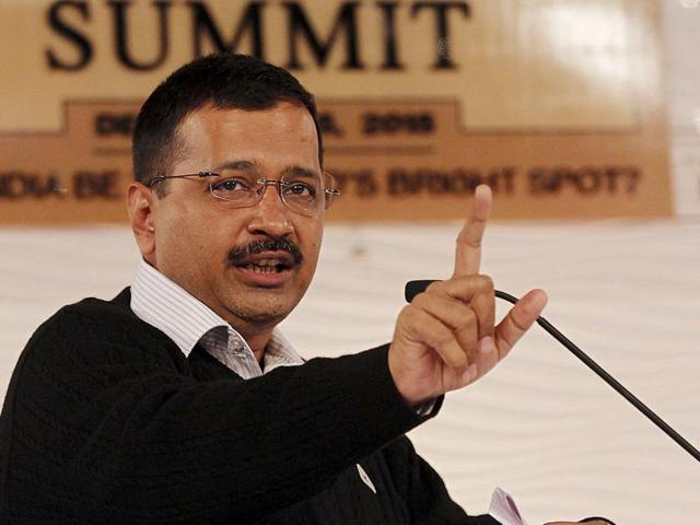 File photo of Delhi chief minister  Arvind Kejriwal . The CM took to Twitter on Tuesday, December 15, 2015, to  attack Prime Minister Modi over the issue of a raid by CBI allegedly on his office.