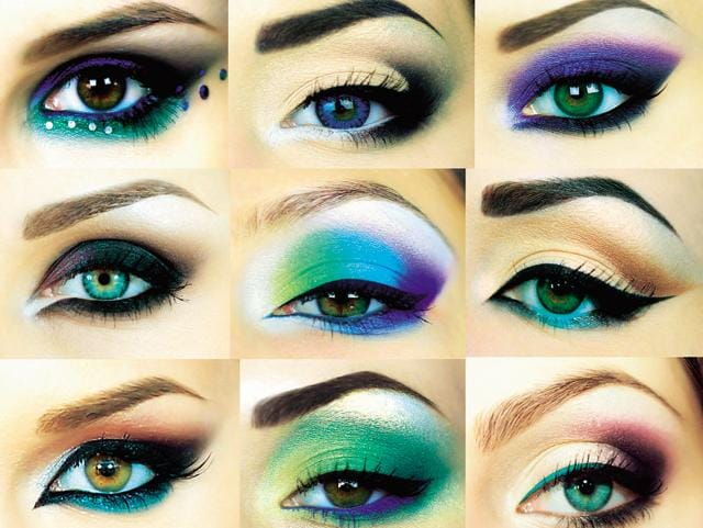 On Instagram, an exaggerated style – thick liner, loud colours – is influencing the real world (Photo: Shutterstock)