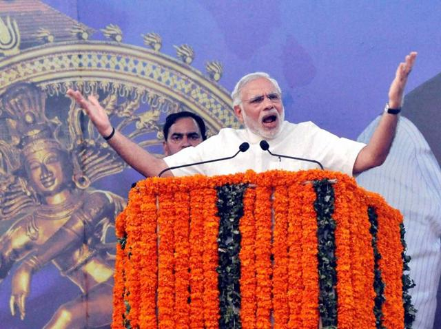 Prime Minister Narendra Modi slammed Congress and other opposition parties accusing them of disrupting Parliament without any concern for the nation's welfare.
