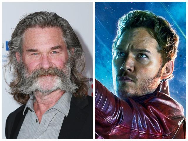 Kurt Russell,Chris Pratt,Guardians of the Galaxy