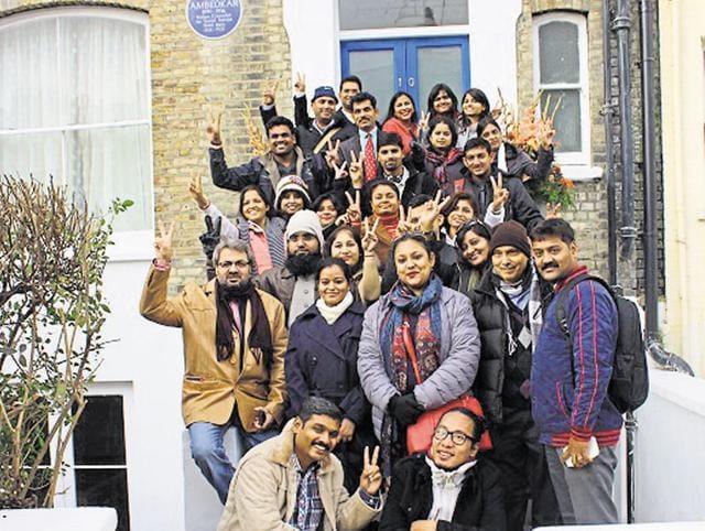 B R Ambedkar,London School of Economics and Political Science,University Grants Commission