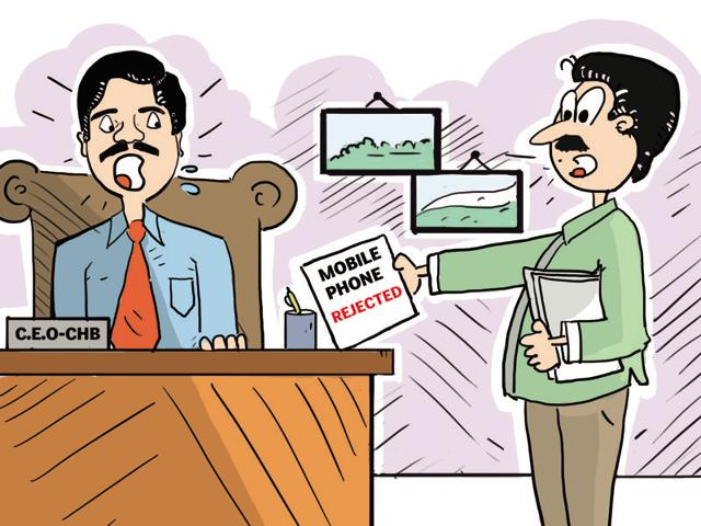 CHB's secretary Adapa Karthik turned down the IAS officer's 'demand', saying there was no policy to provide the gadget to the board officers.