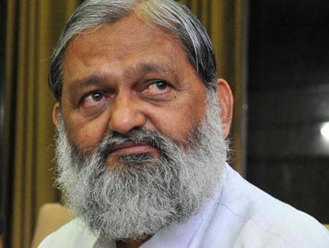 Anil Vij,Haryana health minister,NABH accredition