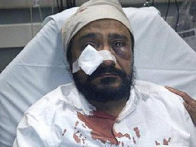 Inderjit Singh Mukker was assaulted and called 'terrorist'and 'Bin Laden' in an apparent hate crime case in Chicago.