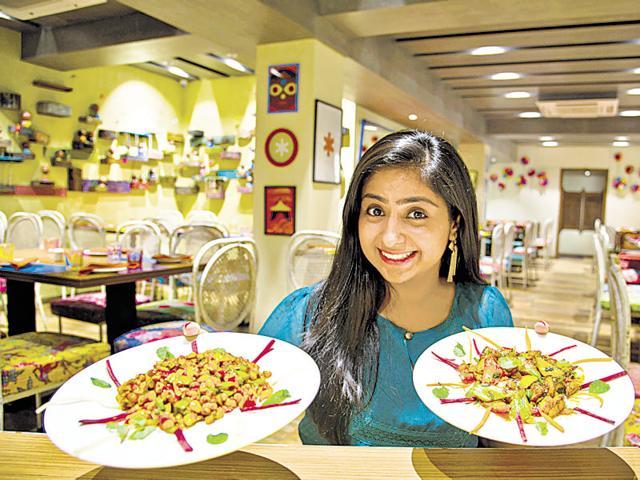 Chef Neha Shah at her restaurant Firki in Lower Parel in Mumbai .