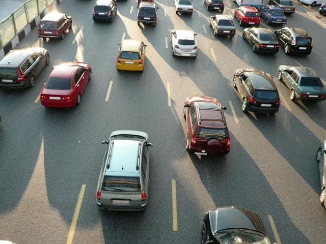 Vehicular emissions are one of the major causes of air pollution in Delhi.