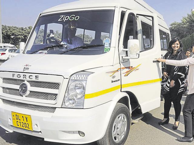 ZipGo was launched on Tuesday with a fleet of 20 mini-buses and all the drivers have been verified by the police.