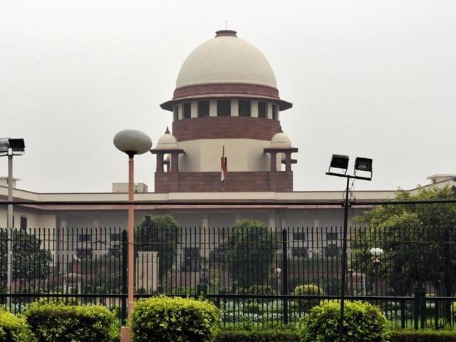 New Delhi, India – July 18, 2013 – Supreme court in New Delhi on Thursday, 18 July 2013. Photo by Mohd Zakir / Hindustan Times
