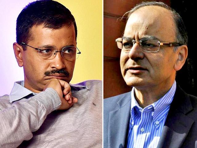 The Congress demanded said the finance minister should step down in the interim, a day after chief minister Arvind Kejriwal accused the CBI of peeping into DDCA files pertaining to Arun Jaitley during a raid at the Delhi secretariat.