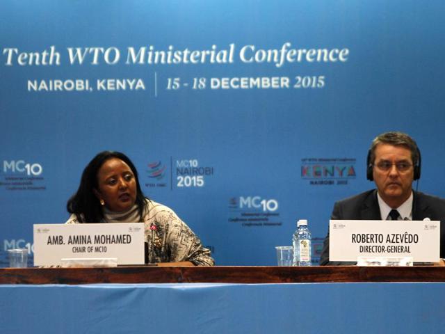 WTO,Nairobi,Doha meet