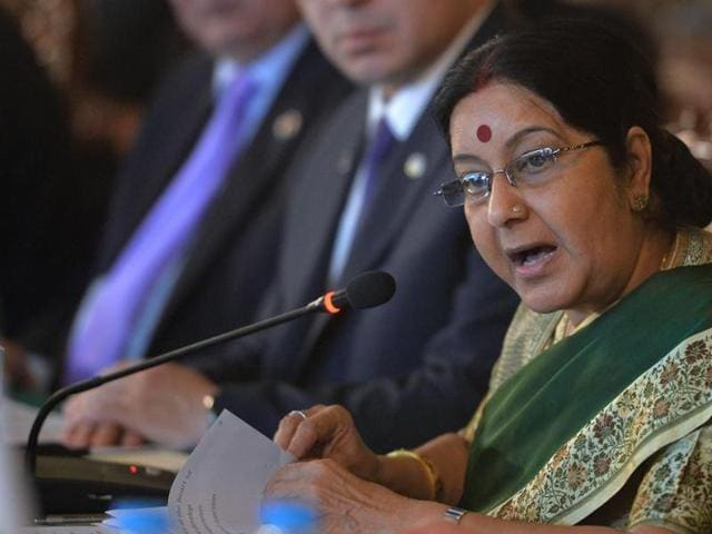 "External affairs minister Sushma Swaraj said that ""war is not an option"" while speaking in Lok Sabha on Wednesday."