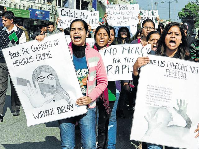 The December 16 Delhi gang rape incident had sparked a series of nationwide protests against crimes against women.