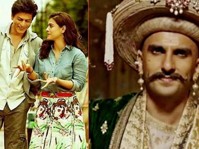 Dilwale and Bajirao Mastani are releasing on the same date, December 18.