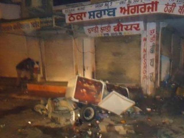 Fazilka police,Abohar clash,Bhim Sain