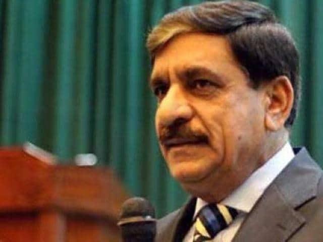 Pakistan's national security adviser Lieutenant General Naseer Khan Janjua