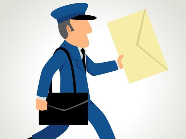 Postman tears letter,India Post,Samuel John